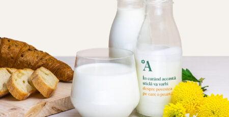 O noua identitate vizuală pentru lactatele Artesana